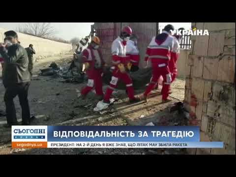Сегодня: В Ірані кинули за ґрати особу відповідальну за збиття українського літака