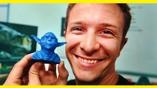 Budget 3D Printer & Directing Actors