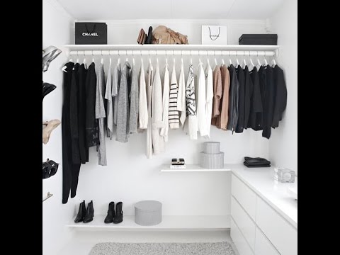 Walk in Closet Design Ideas for Your Room - YouTube