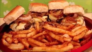 BLARNEY BURGERS with French Fries - BURGERS239