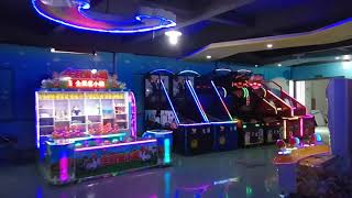 Easyfun arcade game machine show room