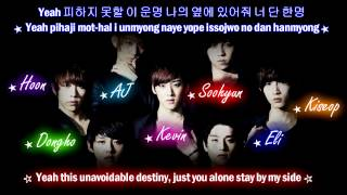 U-Kiss Tick Tock (Korean Ver) [Eng Sub + Romanization + Hangul] HD