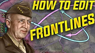 HOI4 How to Edit Front Lines (Hearts of Iron 4 Guide)