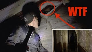 EXPLORING A HAUNTED HOUSE (DEMON SEEN) (107 YEARS OLD)