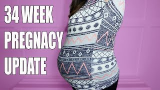 34 Week Pregnancy Update - 3 Fun Facts About Ethan
