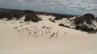Australie : kangaroo island little sahara