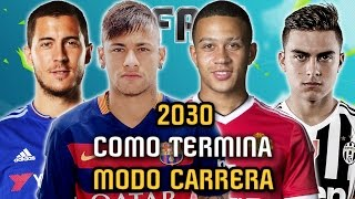 El FINAL de MODO CARRERA 2030 - FIFA 16