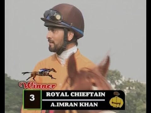 Royal Chieftain with A Imran Khan up wins The Bangalore Turf Club Cup 2018