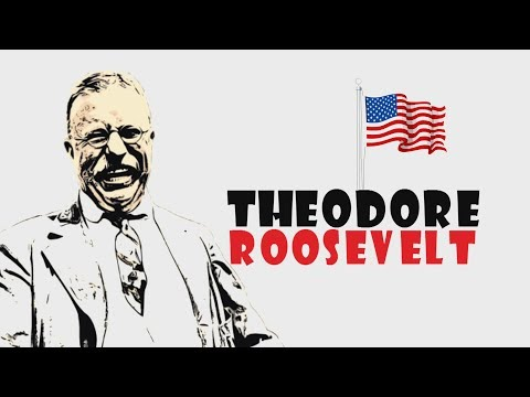 US History for kids: Who is Theodore Roosevelt? (Educational Cartoon Biography)