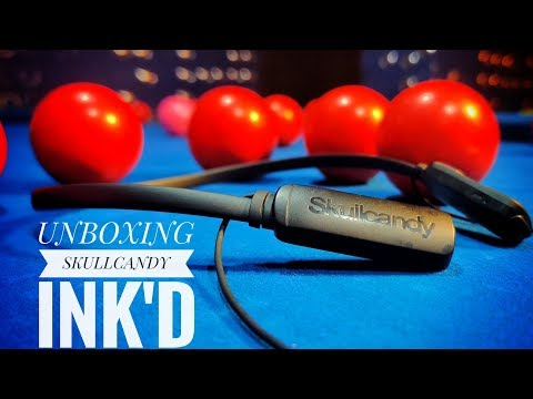 SkullCandy Ink'd Wireless Bluetooth Earphones - Unboxing & Review