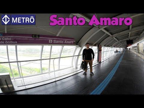 [TRENSX] LINHA 5 LILÁS - Estação Santo Amaro