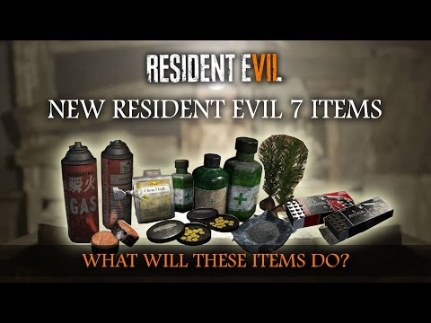 RESIDENT EVIL 7 | SURVIVAL PACK DLC ITEM SETS | RE7 Theory