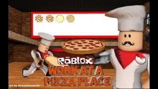 ROBLOX PIZZA HOUSE / COOK AS MANY PIZZAS IN ROBLOX !!!!!