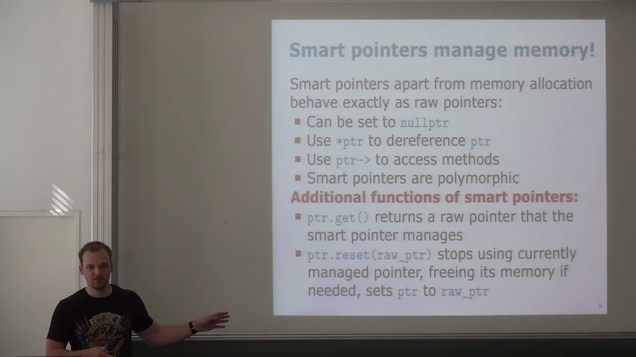 CPP-08 Modern C++: Smart/Unique/Shared ptrs, Associative con , Enumeration  (2018, Igor)