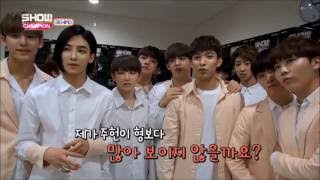 Video [ENG SUB] Quiz - Seventeen_Show Champion Behind 160531 download MP3, 3GP, MP4, WEBM, AVI, FLV Agustus 2018