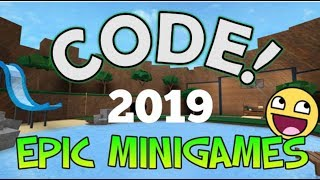 Epic Minigames Codes August 2019| Roblox Epic Minigames
