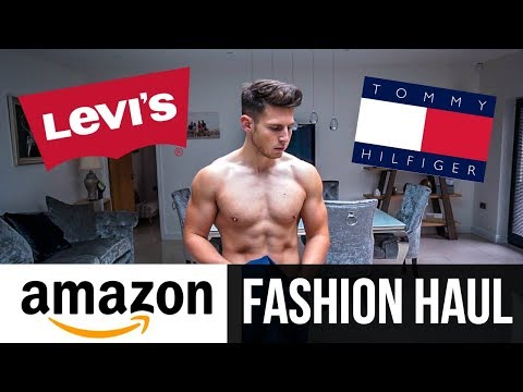 HUGE AMAZON MEN'S FASHION HAUL | Autumn 2018 (Levi's, Tommy Hilfiger, New Look)