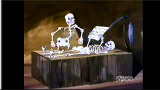 Scooby-doo funny skeletons