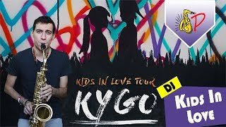 Kids In Love - Kygo ft. The night Game(by SaxPinelin) Sax Cover