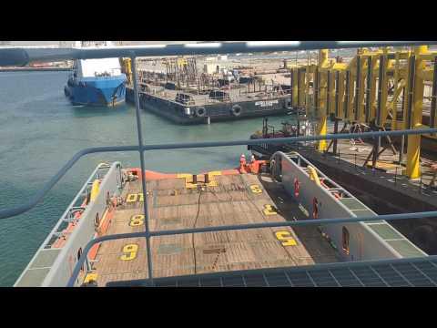 Connecting Tow Wire | Tug & Barge | AHTS. Jasper| JMC 3332 | SeamanVlog