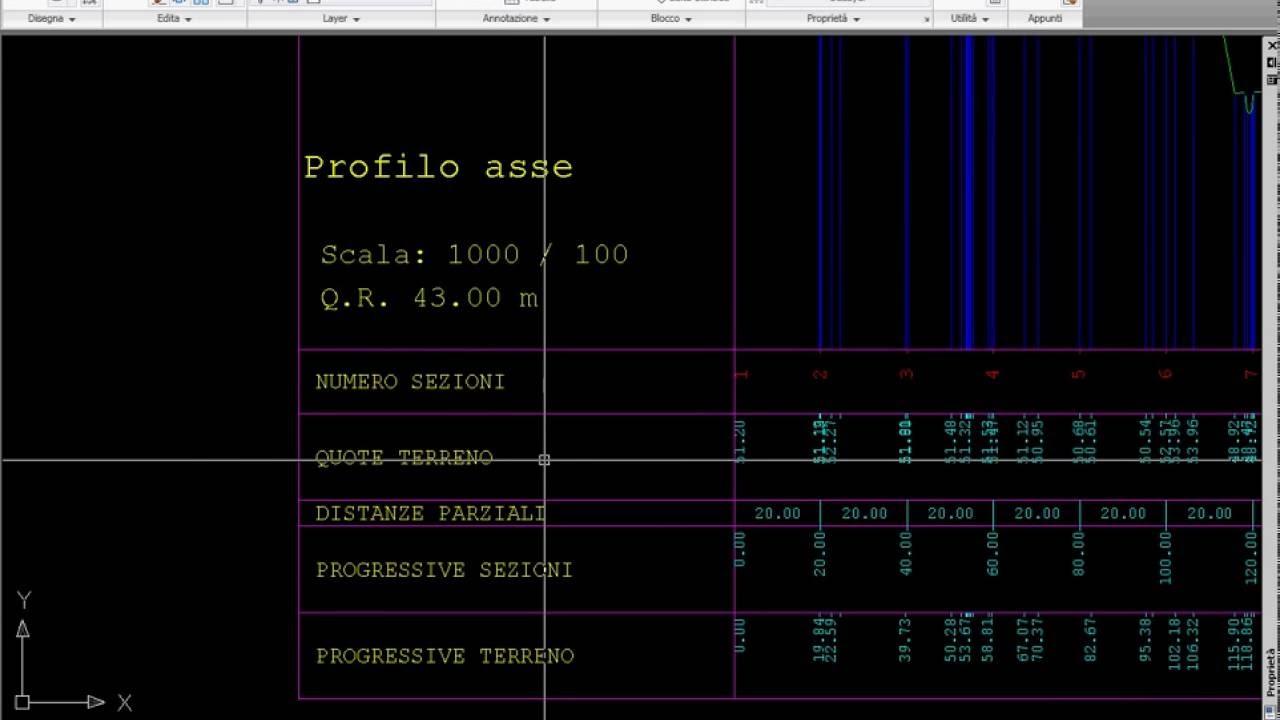 Programming - AutoCAD VBA - FREE DOWNLOAD MACRO - Longitudinal profile