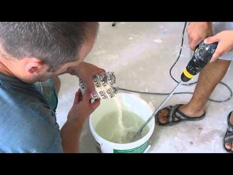 Как клеить флизелиновые обои ,часть 2