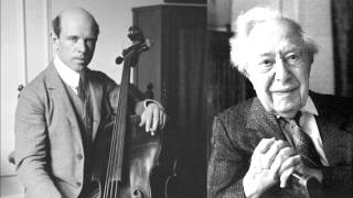 Beethoven: Cello Sonata in C major Op. 102 No. 1 (2/2) Casals & Horszowski