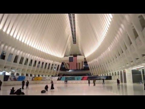 Tour of the World Trade Center Transportation Hub Oculus