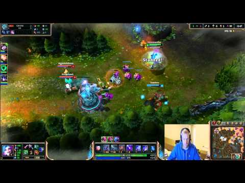 """League of Legends """"The Journey Back"""". How to go from Gold to Diamond I. Plat 5 to Plat 4! Game 2!"""