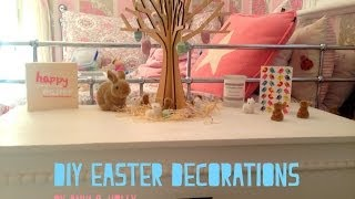 DIY Easter Decorations Thumbnail