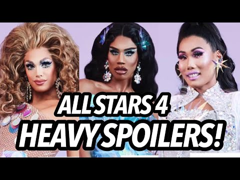 NEW All Stars 4 HEAVY SPOILERS & DRAMA TEA