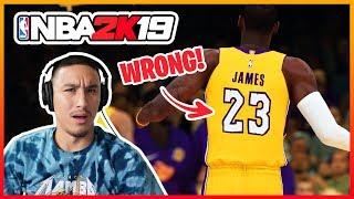 NBA 2K19 Gameplay TRAILER REACTION + BREAKDOWN