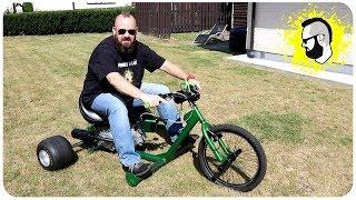 Drift Trike mit 12 PS Motor und 125ccm (POWER)