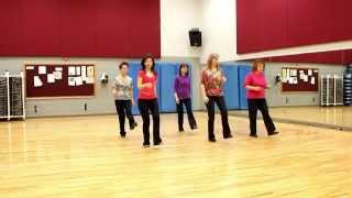 Wasted Tears - Line Dance (Dance & Teach in English & 中文)