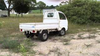"Mitsubishi 4 wheel drive ""mini cab"" utility vehicle 