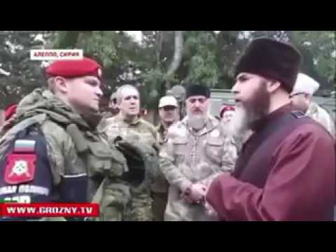 Russian Soldiers convert to Islam