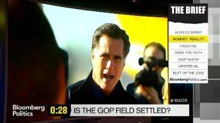 Mark Halperin: Mitt Romney Is 'Still Looming' Over 2016 Field