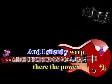 Karaoke song, MOONLIGHT LADY, Albert Hammond