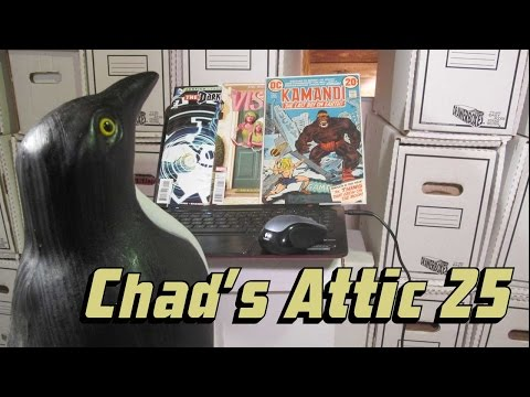 Comic Book Reviews from Chad's Attic – Episode 25