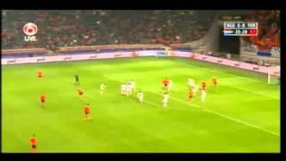 Nederland   Turkije Hollanda ile Türkiye (A) Milli Futbol Takımları arasında ilk yari 0-0