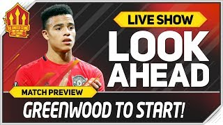 West Ham vs Manchester United! Solskjaer To Start Greenwood!