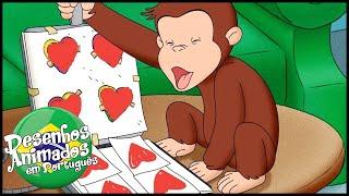 George O Curioso ❤️Feliz Dia dos Namorados❤️ Compilação  Desenhos Animados