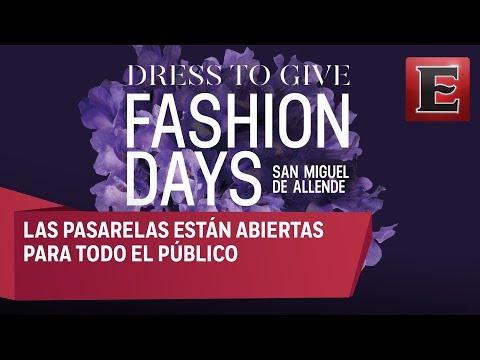 Blanca Salinas presenta la cuarta edición del 'Dress to Give Fashion Days'