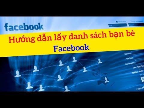 Hướng dẫn lấy danh sách bạn bè Facebook [LỢI OBS-DA1000]