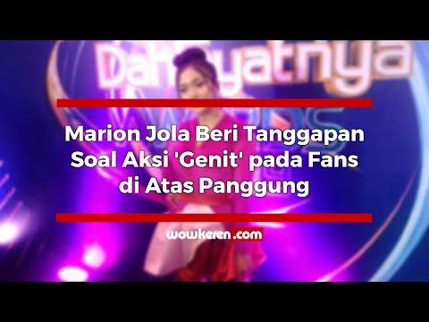 Marion Jola Beri Tanggapan Soal Aksi 'Genit' Pada Fans Di Atas Panggung