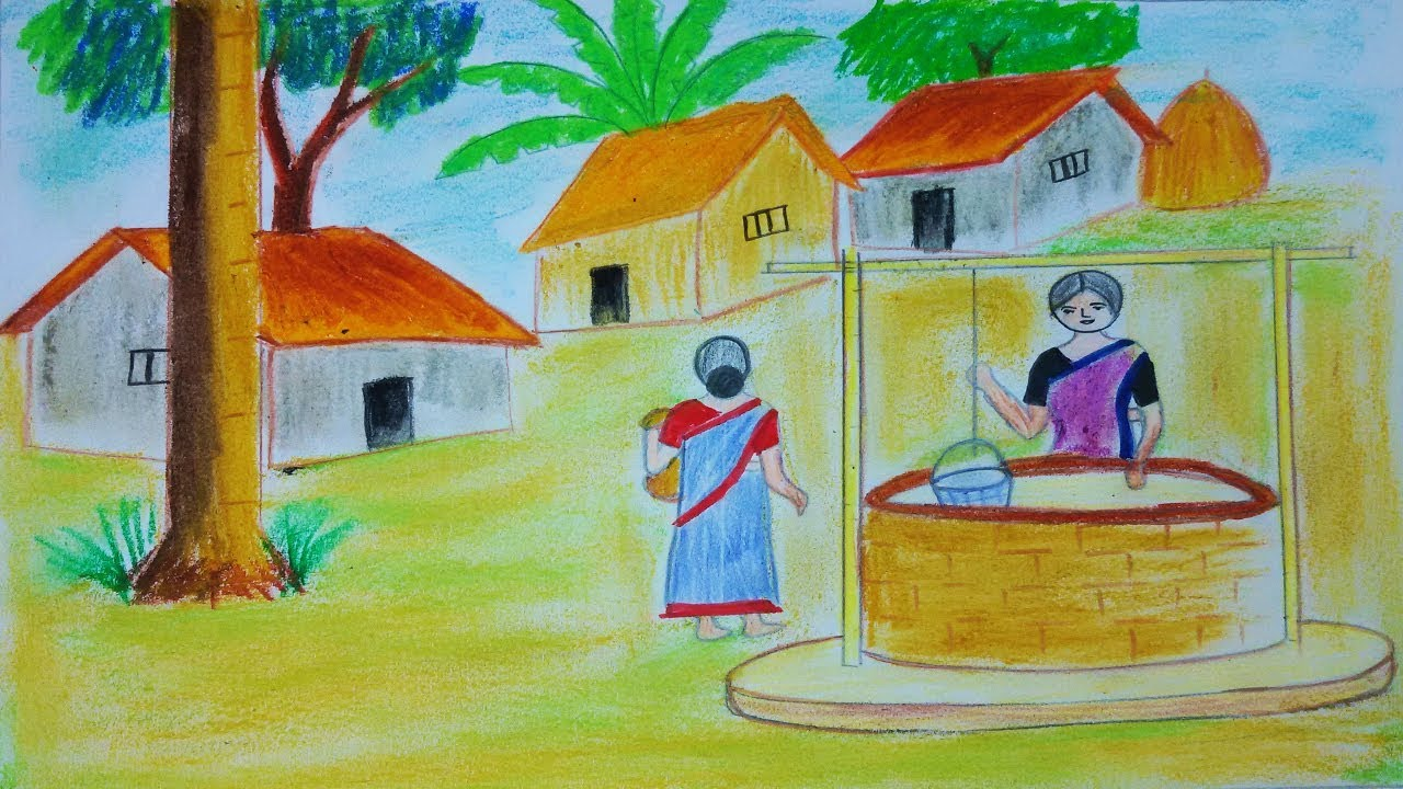 How to draw water from the well to the house Water supply from the well 8