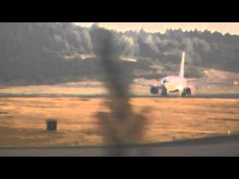 scandinavia ( SAS ) take off at Arlanda Airport