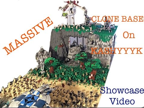 Lego Star Wars Clone Base on Kashyyyk (HUGE)