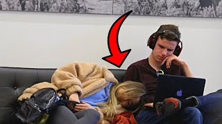 Falling Asleep On Strangers In The Library 2
