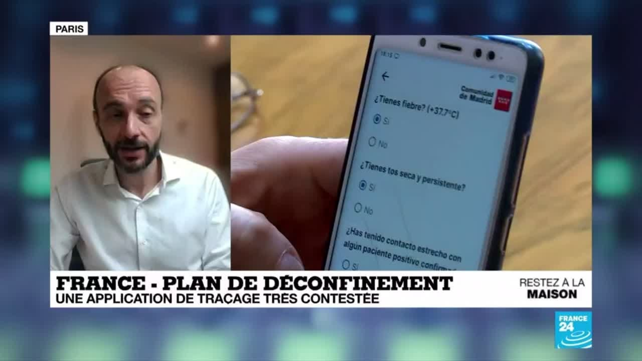 Déconfinement en France : l'application de traçage Stop Covid très ...